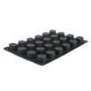 Lekue Muffin Silicone Mold 24 forms, 2.76 Dia., 1.57 D inches