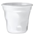 Comatec White Crushed Cup - 3 ounce