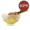Comatec Sferik Bowl Frosted - 40 Pieces