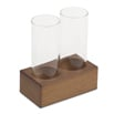 2 Column Glasses with Base