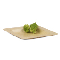 Square Bamboo Leaf Plate