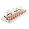Verrines and  Skewers Tray -Clear Plastic