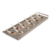 Rectangular Service Tray  in Stainless Steel