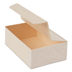 Collapsible Rectangle Box with Attached Lid -  4 x 6 x 2 inches