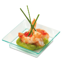 Comatec Square Dishes - Sea Green - 2.5 inch