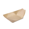 Poplar Wood Serving Boat 4.5 x 2.5 x .5 inch