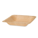 Square Poplar Wood Plate 5.5 inch