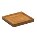 Bamboo Square Dish - 2.25 inch