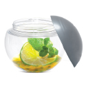 Comatec Sphere Container w/ Screw Cap, 3.5 inch diameter