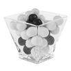 Comatec Glass Geometric Dish 2 ounce