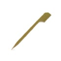 Bamboo Paddle Picks, Teppo Gushi - 3.5 Inches