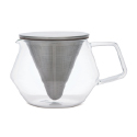 Carat Glass Serving Pot, 20.4 oz.