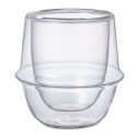 Kronos Double Walled Demitasse 2.7 oz Glass