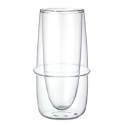Kronos Double Walled Flute 5.4 oz Glass