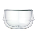 Kronos Double Walled Bowl 11.1 oz Glass
