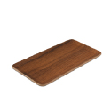 Teak Underliner, 8.8L x 4.8W inches