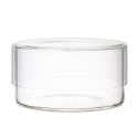 Schale Glass Lab Dish with Cover 10.1 oz.