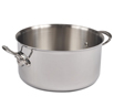 M' Cook Stewpan with Cast Stainless Steel Handles- 11 Diameter, 9.1 Quarts (No Lid)