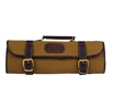 Boldric Khaki Canvas Knife Bag -9 pocket