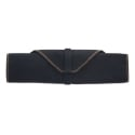 Boldric Black Canvas Knife Bag - 6 Pockets