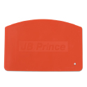 JB Prince Logo Orange Flexible Bowl Scraper