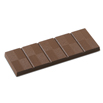 Lined 5 Section Bar Chocolate Mold