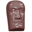 Mask Chocolate Mold, 24 Forms