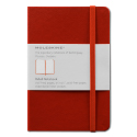 Moleskine Ruled Pocket Notebook - Red