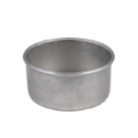 3 inch Straight Sided Pan - 3 inch x 6 inch diameter