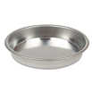 Removable Bottom Tart Mold - 4.75  inch Tinned Steel