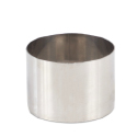 "High Stainless Steel Pastry Ring, 3.1"""" x 2.4"""""