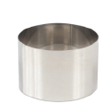 "High Stainless Steel Pastry Ring, 4.7"""" x 3.1"""""