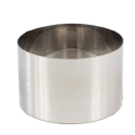 "High Stainless Steel Pastry Ring, 6.3"""" x 3.9"""""