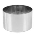 "High Stainless Steel Pastry Ring, 7.9"""" x 4.7"""""