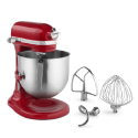 KitchenAid Commercial Mixer - 8 Quarts - Red