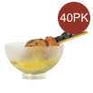 Comatec Sferik Mini Bowl Frosted - 40 Pieces