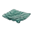 Sea Green Glass Tray Square