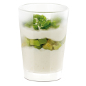 Comatec Mini Glass Clear/Frosted - 2 oz.