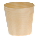 Small Wood Paper Cup - 2.25 inch diameter