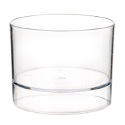 Comatec Clear Mini Verrine 1.5 oz; 2 inch Dia. 1.5 inch H