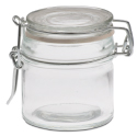 Glass Mason Jar - 2.75 inch high, 2.3 inch diameter, 3 oz