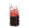 Comatec Square Stackable Glass - 5oz., 1.5 x 1.5 x 4.5 inches
