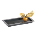 Comatec Faux Slate Rectangle Plate 2.5 x 5 inch