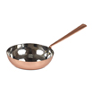 "Mini Curved Fry Pan 4"""" Copper Finish"