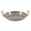 "Mauviel Paella Pan 15.7"""" Hammered s/s"