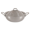 Mauviel Covered Saute Pan 9.44""""