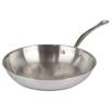 M'Cook Round Frying Pan Cast Stainless Steel Handle - 11-inches Diameter