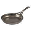 AUS-ION 10.2-inch Skillet by Solidteknics - Seamless Steel - Smooth Finish