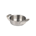 "Piazza 3-Ply 2-Handled Saute Pan 4"""" x 1.2"""""