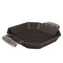 FINEX 12-inch Cast Iron Grill Pan